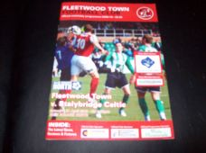 Fleetwood Town v Stalybridge Celtic, 2009/10